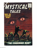 Golden Age (1938-1955):Horror, Mystical Tales #4 (Atlas, 1956) Condition: VF-. Reed Crandall art.Overstreet 2004 VF 8.0 value = $155....