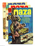 Silver Age (1956-1969):Adventure, Naza #1-9 Group (Dell, 1964-66) Condition: Average VG+. This group consists of nine comics: #1-9. Jack Sparling art. Approxi... (Total: 9 Comic Books Item)