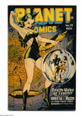 Golden Age (1938-1955):Science Fiction, Planet Comics #39 (Fiction House, 1945) Condition: FN. Lily Reneecover. Renee, Fran Hopper, Lee Elias, and Jack Keller art....