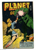 Golden Age (1938-1955):Science Fiction, Planet Comics #47 (Fiction House, 1947) Condition: FN/VF. LilyRenee, Rafael Astarita, George Evans, Murphy Anderson, and Bo...