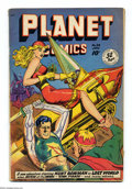 Golden Age (1938-1955):Science Fiction, Planet Comics #58 (Fiction House, 1949) Condition: VG. Joe Doolincover. Doolin, George Evans, Joe Cavallo, Maurice Whitman,...
