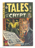Golden Age (1938-1955):Horror, Tales From the Crypt #21 (EC, 1951) Condition: VG. Al Feldsteinstory and cover art. Second issue. Feldstein, Wally Wood, an...