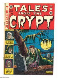 Tales From the Crypt #22 (EC, 1951) Condition: FN-. Al Feldstein cover; Feldstein, Graham Ingels, Johnny Craig, and Jack...