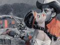 Paintings, Lu Kimmel (American, 1905-1973). Showdown Lover. Oil on board. 15 x 20 inches (38.1 x 50.8 cm) (sight). Not signed. Sign...