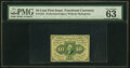 Fractional Currency:First Issue, Fr. 1241 10¢ First Issue PMG Choice Uncirculated 63.. ...