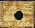 Colonial Notes:New Hampshire, New Hampshire April 29, 1780 $1 Hole Cancel Fine.. ...