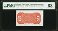 Fractional Currency:Third Issue, Fr. 1273-5SP 15¢ Third Issue Wide Margin Back PMG Choice Uncirculated 63.. ...