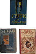 Books:Mystery & Detective Fiction, Thomas W. Henshaw. Cleek of Scotland Yard. New York: Doubleday, 1914. First edition.... (Total: 3 )