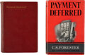 Books:Mystery & Detective Fiction, C.S. Forester. Payment Deferred. London: Bodley Head, 1926. First edition.... (Total: 2 Items)
