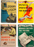 Books:Mystery & Detective Fiction, Willetta Ann Barber and R. F. Schabelitz. Group of Four Christopher Storm Mysteries. Published for The Crime Club, Garden Ci... (Total: 4 Items)