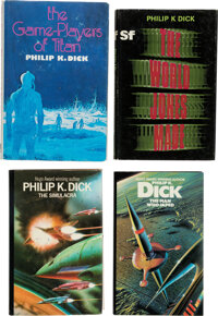 Philip K. Dick. Four First UK Editions. London: [Various publishers, various dates]