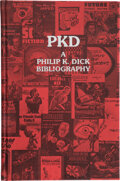 Books:Science Fiction & Fantasy, Philip K. Dick [subject]. PKD A Philip K. Dick Bibliography. Compiled by Daniel J. H. Levack with annotations by...