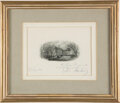 Autographs:U.S. Presidents, John F. and Jacqueline Kennedy Christmas Card Inscribed and Signed. ...