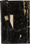 Military & Patriotic:Civil War, 1862 Civil War Diary of William F. Smith, Major, 1st Delaware Volunteer Infantry Regiment....