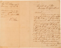 Pierre G.T. Beauregard Letter Signed