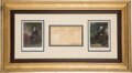 Autographs:U.S. Presidents, George Washington and Thomas Jefferson Partial Appointment Signed ...
