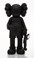 Collectible, KAWS (b. 1974). Share (Black), 2020. Painted cast vinyl. 12-1/2 x 6 x 3 inches (31.8 x 15.2 x 7.6 cm). Open Edition. Sta...