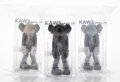 Collectible, KAWS (b. 1974). Small Lie (set of 3), 2017. Painted cast vinyl. 10-3/4 x 5 x 5 inches (27.3 x 12.7 x 12.7 cm) (each). Op... (Total: 3 Items)