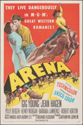 """Movie Posters:Western, Arena & Other Lot (MGM, 1953). Folded, Overall: Very Fine. One Sheets (2) (27"""" X 41""""). Western.. ... (Total: 2 Items)"""
