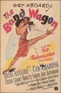 """Movie Posters:Musical, The Band Wagon (MGM, 1953). Folded, Fine. One Sheet (27"""" X 41""""). Musical.. ..."""