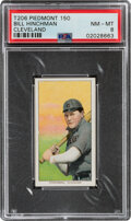 Baseball Cards:Singles (Pre-1930), 1909-11 T206 Piedmont 150 Bill Hinchman (Cleveland) PSA NM-MT 8 - None Higher Any Brand. ...