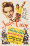 "Movie Posters:Musical, Summer Stock (MGM, 1950). Folded, Fine/Very Fine. One Sheet (27"" X 41""). Musical.. ..."