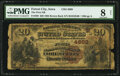 Forest City, IA - $20 1882 Brown Back Fr. 499 The First National Bank Ch. # (M)4889 PMG Very Good 8 Net