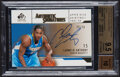 Basketball Cards:Singles (1980-Now), 2003-04 SP Signature Edition Authentic Signatures Gold Carmelo Anthony #AS-CA BGS Gem Mint 9.5, Auto 10 - Serial Numbered 39/5...