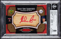 Baseball Cards:Singles (1970-Now), 2005 UD Sweet Spot Signatures Bat Barrel Red Ink Autograph Nolan Ryan #SS-NR BGS NM-MT 8, Auto 10 - Serial Numbered 3/5....