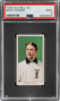 Baseball Cards:Singles (Pre-1930), 1909-11 T206 Old Mill Bock Hooker PSA Mint 9 - Pop One, None Higher With This Brand! ...