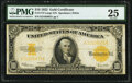 Large Size:Gold Certificates, Fr. 1173 $10 1922 Gold Certificate PMG Very Fine 25.. ...
