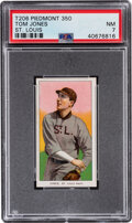 Baseball Cards:Singles (Pre-1930), 1909-11 T206 Piedmont 350 Tom Jones (St. Louis) PSA NM 7 - Pop One, None Higher With This Brand & Series. ...