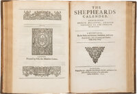 Edmunde Spencer. Early Collected Works of Edmund Spencer Including The Faerie Queene: A Poem, The Shepheards Ca