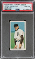 Baseball Cards:Singles (Pre-1930), 1909-11 T206 Sweet Caporal 350/25 Harry Coveleski PSA NM-MT 8 - Pop One, None Higher With This Brand/Series/Factory Combinatio...