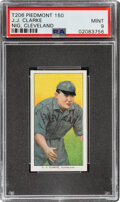Baseball Cards:Singles (Pre-1930), 1909-11 T206 Piedmont 150 J.J. Clarke (Cleveland) PSA Mint 9 - Pop One, None Higher With This Brand & Series. ...