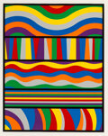 Prints & Multiples, Sol LeWitt (1928-2007). Lincoln Center, 1998. Silkscreen in colors on Somerset Satin white paper. 35-5/8 x 28-1/8 inches...