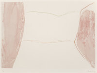 Helen Frankenthaler (1928-2011) Ponti, 1973 Etching and aquatint in colors on wove paper 19-7/8 x