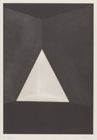 James Turrell (b. 1941) B3, from First Light Series, 1989 Etching and aquatint on Zerkall
