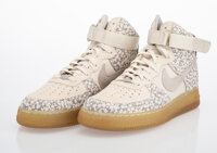 Nike X Stash Air Force 1 Highs 'Spray Nozzle' (Tokyo Edition), 2003 Pair of sneakers with CD and cas