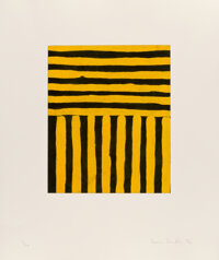 Sean Scully (b. 1945) Heart of Darkness, 1992 Eight aquatints in colors on cream wove paper 22 x