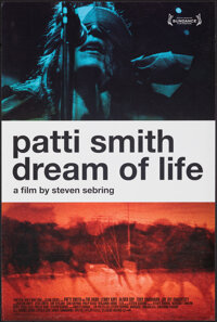 """Patti Smith: Dream of Life (Palm Pictures, 2008). Rolled, Very Fine+. Mini Poster (15.75"""" X 23.75"""") SS. Docume..."""