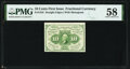 Fractional Currency:First Issue, Fr. 1242 10¢ First Issue PMG Choice About Unc 58....