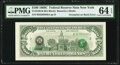 Error Notes:Third Printing on Reverse, Third Printing on Back Error Fr. 2166-B $100 1969C Federal Reserve Note. PMG Choice Uncirculated 64 EPQ.. ...