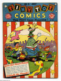 Golden Age (1938-1955):Funny Animal, Tiny Tot Comics #3 (EC, 1946) Condition: VG. Burton Gellar cover.Overstreet 2004 VG 4.0 value = $40....