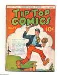 Platinum Age (1897-1937):Miscellaneous, Tip Top Comics #14 (United Features Syndicate, 1937) Condition:GD+. Overstreet 2004 GD 2.0 value = $65....