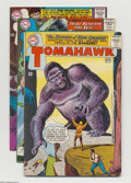 Silver Age (1956-1969):Western, Tomahawk Group (DC, 1964-66) Condition: Average VG/FN. This group consists of nine comics: #93, 95, 96 (origin and first app... (Total: 9 Comic Books Item)