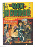 Golden Age (1938-1955):Horror, Vault of Horror #14 (EC, 1950) Condition: VG/FN. Johnny Craigcover. Craig, Wally Wood, Graham Ingels, and Al Feldstein art....
