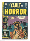 Golden Age (1938-1955):Horror, Vault of Horror #17 (EC, 1951) Condition: VG/FN. Classic Werewolfcover by Johnny Craig. Craig, Jack Davis, Graham Ingels an...