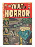 Golden Age (1938-1955):Horror, Vault of Horror #21 (EC, 1951) Condition: VG+. Johnny Craig cover.Craig, Jack Davis, Al Feldstein, and Jack Kamen art. Over...
