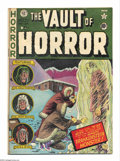 Golden Age (1938-1955):Horror, Vault of Horror #22 (EC, 1951) Condition: VG+. Frankenstein coverand adaptation. Johnny Craig cover art. Overstreet 2004 VG...